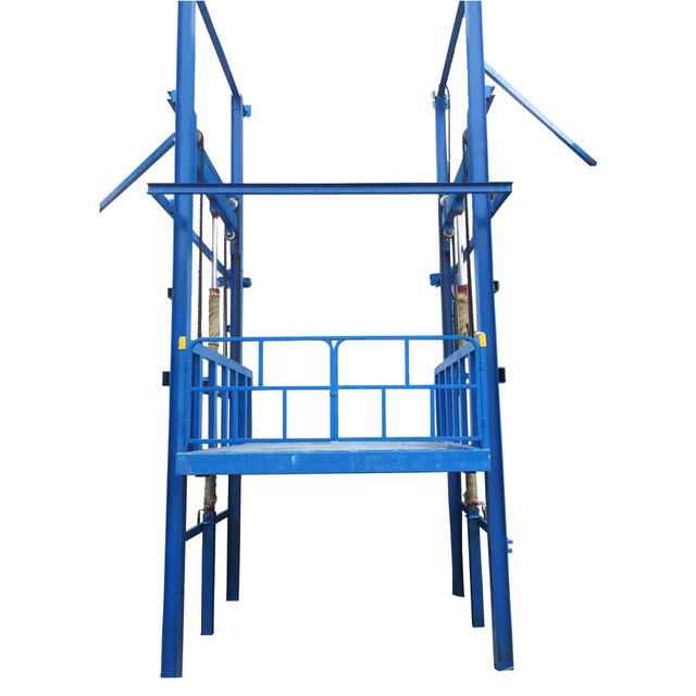 first class guide rail lift residential cargo lift elevator