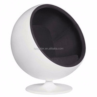 Eero Aarnio fiberglass big pod eye ball arm chair