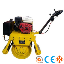 Hot sale mini hydraulic new vibration double drum road roller price