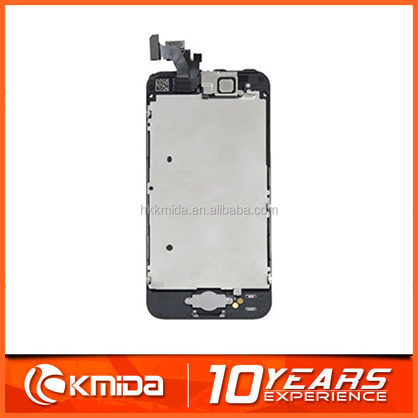 LCD Lens Touch Screen Display Digitizer for iPhone 5/5g WHITE