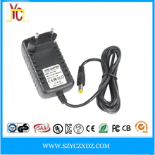 Medical device Home appliance power adapter US 12V 1.5A charger