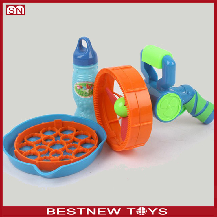 Plastic bubble shooter gun toy bubble shooter gun toy