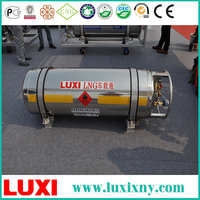 Vehicle Cylinder LNG Gas Cylinder Tank Hydraulic Cylinder , Lng Skid Containers