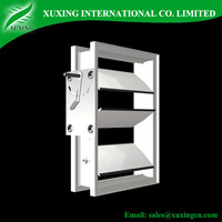 galvanized sheet hvac motorized damper with adjustable blades for ventilation