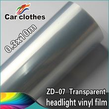 High Quality 0.3x10m Vinyl Wrap Roll Car Lamp Protective Film
