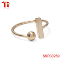trending products 2017 vanfi jewelry thai fashion jewelry 0.3cm ball -1.0*0.2cm bar