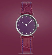 high quality Violet Rose lady watch