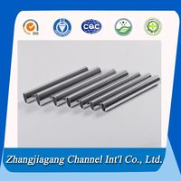 Customized 15mm Elliptical Aluminum Tube