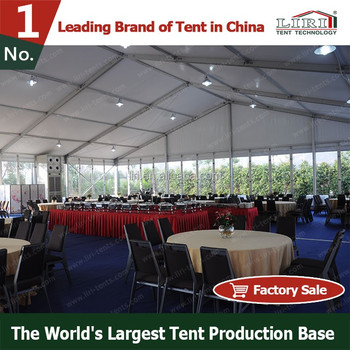Semi permanent aluminum canopy tents for catering for for Semi permanent tent