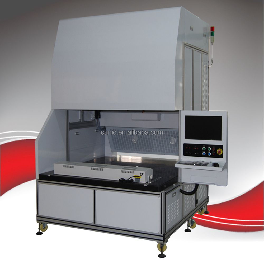 275w CO2 3D Dynamic Laser Marking Machine for jeans, cloth, marble, glass, bamboo, wood, rubber, leather engraving