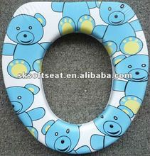 Little Bear Printed Baby Soft-Sponge Toilet Seat SK-R2093