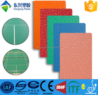 indoor stone surface sport flooring badminton court volleyball court multi-purpose synthetic tennis courts