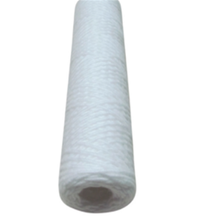 30inch 0.45micron PP string wound polypropylene filter cartridges, pp sediment string wound cartridge filter