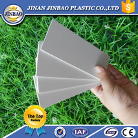 Double side self-adhesive plastic material photo album inner page PVC sheets