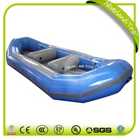 High Quality NEVERLAND TOYS Funny Floating Blue Inflatable Boat Sales The Boat PVC