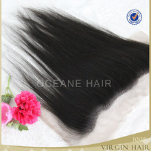 Cheap lace frontals with baby hair in brazilian and kinky hair