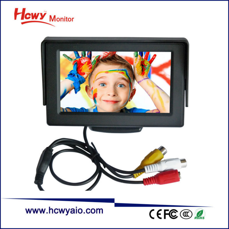 Mini 3.5 inch 4.3 inch 5 inch 7 inch Car Monitor With HDMI Input