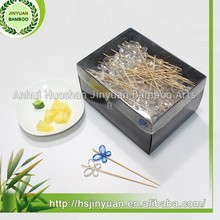 excellent quality bamboo disposable cocktail fruit picks