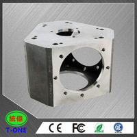 solid customized making CNC raw aluminum blocks for machining