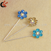Alibaba Wholesale Fashion Rhinestone Muslim Brooch Hijab Scarf Pins