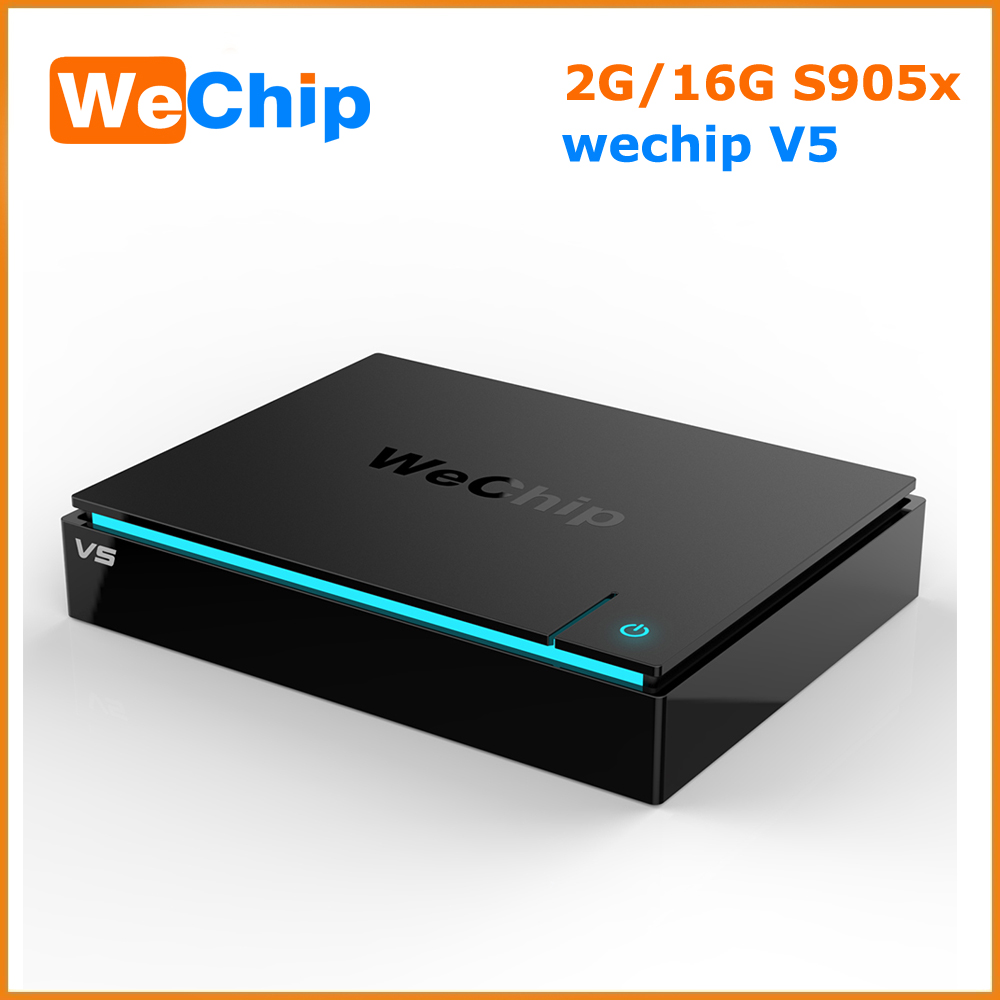 Best Android TV Box Wechip V5 Android Smart TV Box Hybrid Set Top box