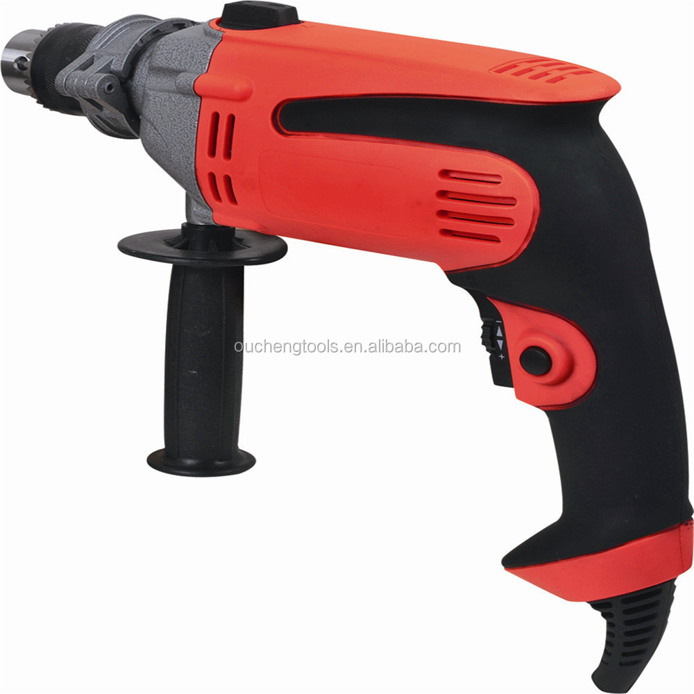 Adjust Speed Electrical construction power tools electric driver impact cord drill 13mm 650w