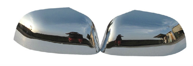 DOOR MIRROR COVER PLASTIC CHROME REARVIEW MIRROR COVER FOR NISSAN MARCH CAR ACCESSORIES