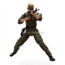 Custom gi joe 7'' action figure,oem 7'' gi joe figure with gun,custom gi joe wear sunglass