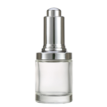 High Quality 30Ml Food Grade Clear Round Essential Oil Glass Bottle With Metal Spout