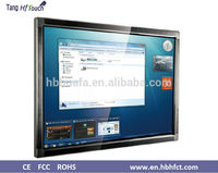 water proof infrared 84 inch touch screen monitor lcd tv, touch all in one pc with wall mount and mobile stand