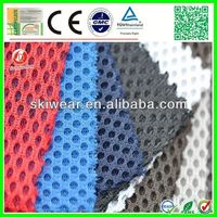 warp knitted 3D air 100 polyester mesh fabric for t shirts