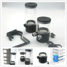 cylinder water tank +DC pump all-in-one set for For PC Liquid Water Cooling