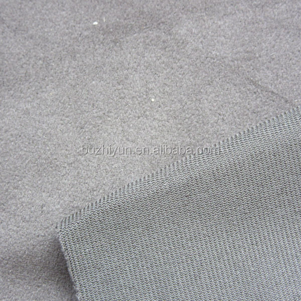 100%Polyester Warp Knitting Solid Suede Sofa Furniture Fabric
