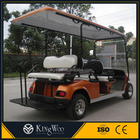 High quality 4x2 electric 6 seater golf cart for sale