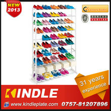 metal folded display shoe rack with 31 years experience