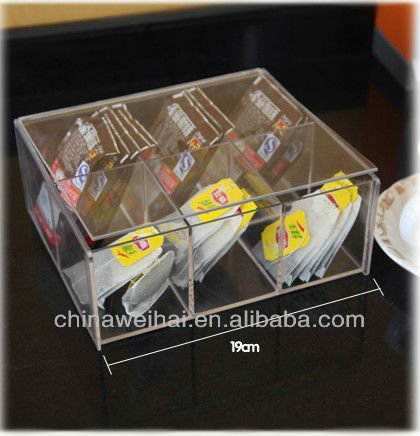 Clear Acrylic Coffee Display Box