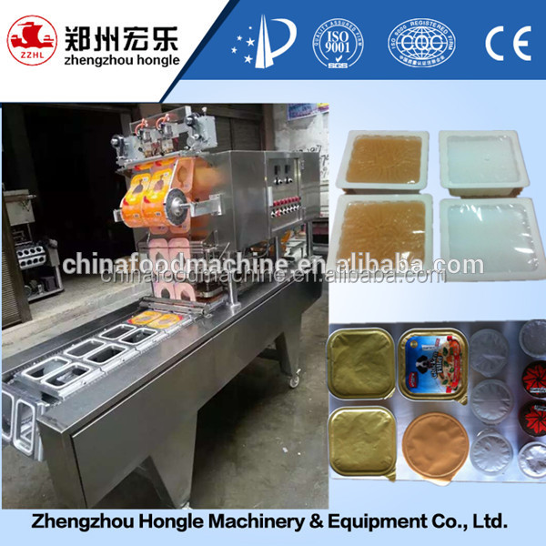 Automatic honey/yogurt filling machine/juice drink cup sealing machine