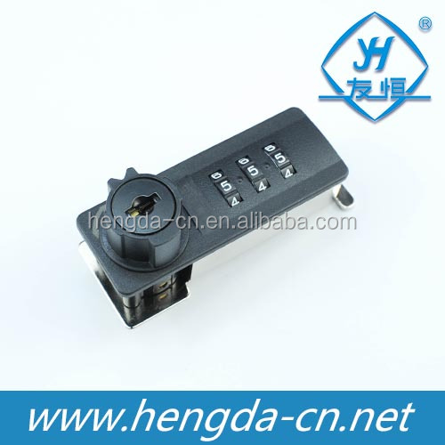 YH2021 plastic 4 digits number mechanical code lock combination cabinet code lock