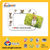 Promotional gifts cute dog magnetic photo picture frame