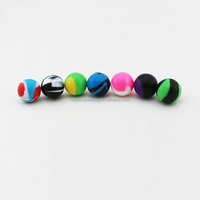 High quality Wholesale 100 FDA Silicone container wax ball 6ml capacity 38mm diameter dab wax ball SC-5 online selling