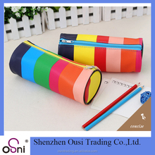 Osni Rainbow pencil bag canvas zipper pencil bag
