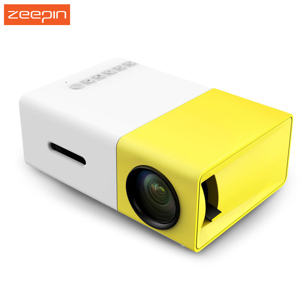 YG300/YG310 LCD Portable Projector HD Home Media Player MINI LED Projector Video Games TV Home Theatre Movie Support HDMI AV SD
