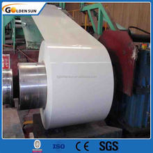 Waterproof prime quality lowest price ppgi steel strip in Goldensun for roofing sheet