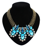 Different style cheap indian statement necklace