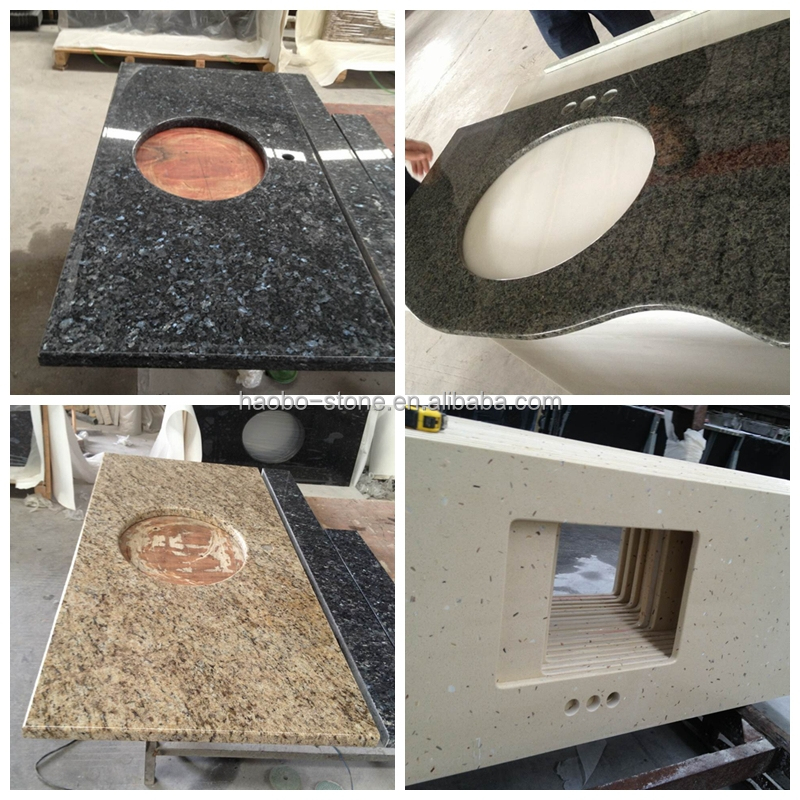 Haobo Cheap Price Full Bullnose Pre Cut Granite Countertops, View pre ...