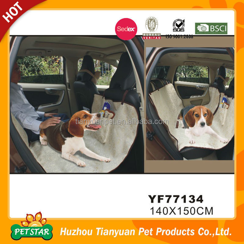 Luxury Design PU Leather Dog Car Seat Cover