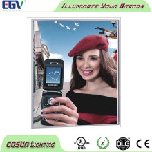 hot-sale mobile phone for sided snap frame light box