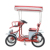 Wholesale 2 or 4 Person Quadricycle Bike Four Wheel Pedal Tandem Rental Surrey Bicycle for sale
