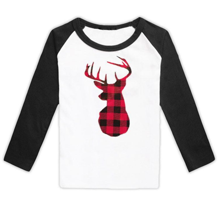 Wholesale fall winter organic cotton long sleeve baby tops only