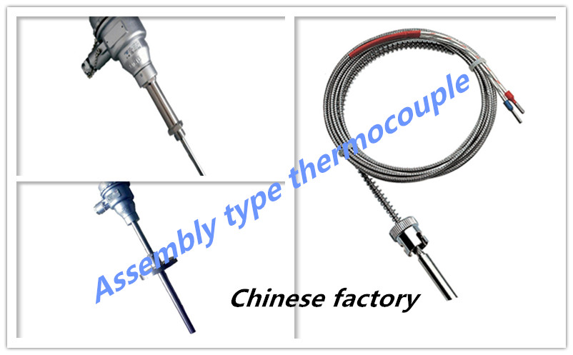 Type K WRNT-01 compression spring thermocouple and compression spring sensor for injection molding machine